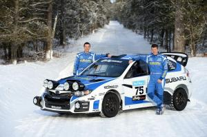 Subaru Impreza WRX STI Rally Car 2012 года